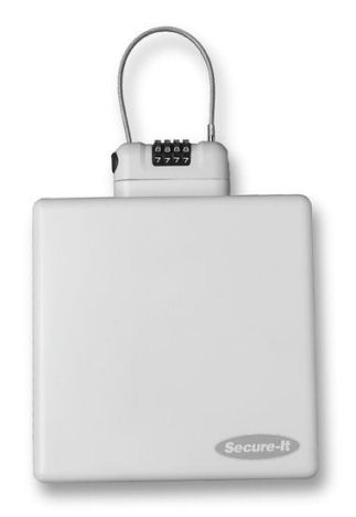 Travel Safe Lock Box (White)